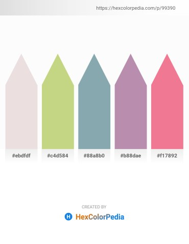 Palette image download - Thistle – Tan – Light Slate Gray – Rosy Brown – Light Coral