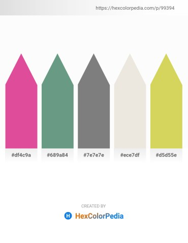 Palette image download - Pale Violet Red – Cadet Blue – Gray – Gainsboro – Burlywood