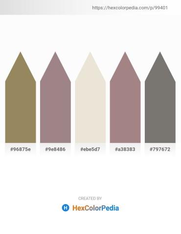 Palette image download - Dark Khaki – Gray – Beige – Rosy Brown – Gray