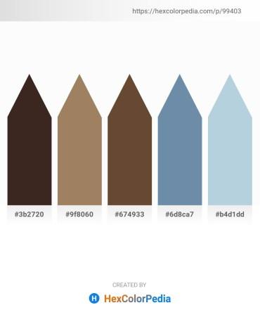 Palette image download - Dark Slate Blue – Rosy Brown – Black – Cadet Blue – Light Steel Blue