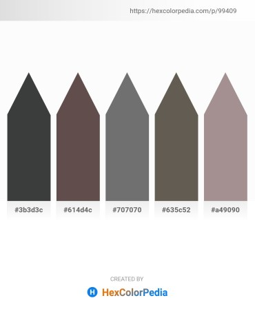 Palette image download - Dark Slate Gray – Dim Gray – Dim Gray – Dim Gray – Dark Gray
