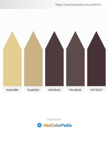 Palette image download - Burlywood – Tan – Dim Gray – Dim Gray – Dark Khaki