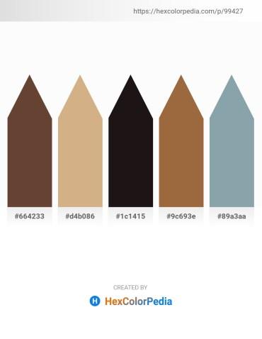 Palette image download - Dim Gray – Tan – Black – Sienna – Light Slate Gray