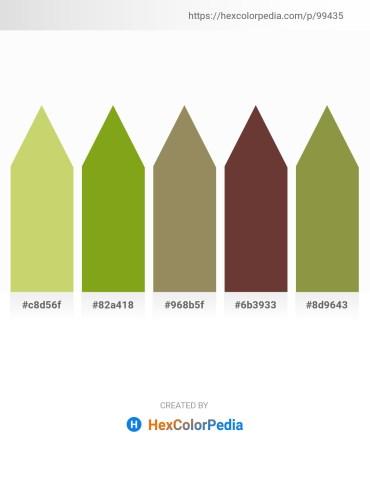 Palette image download - Burlywood – Olive Drab – Dark Khaki – Dark Olive Green – Dark Olive Green
