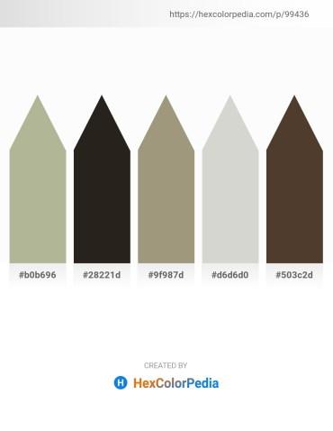Palette image download - Dark Sea Green – Black – Light Steel Blue – Light Gray – Medium Purple