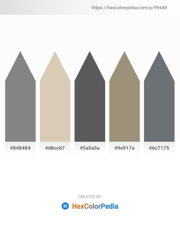 Palette image download - Gray – Tan – Dim Gray – Rosy Brown – Slate Gray