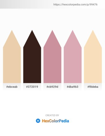 Palette image download - Pale Goldenrod – Yellow – Rosy Brown – Indian Red – Wheat