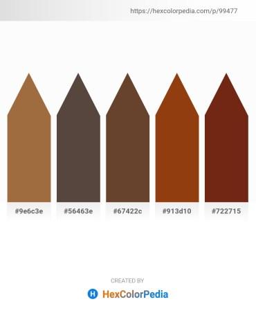 Palette image download - Sienna – Dim Gray – Black – Saddle Brown – Saddle Brown