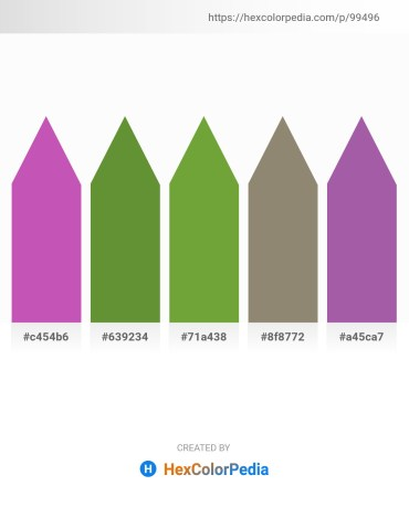 Palette image download - Orchid – Olive Drab – Olive Drab – Gray – Medium Orchid