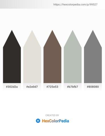 Palette image download - Black – Gainsboro – Dim Gray – Dark Sea Green – Gray