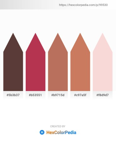 Palette image download - Dark Slate Blue – Brown – Indian Red – Indian Red – Linen