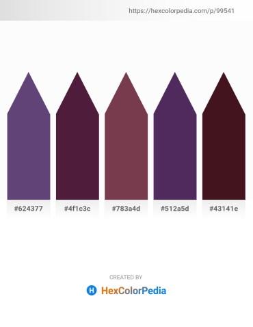 Palette image download - Dark Slate Blue – Dim Gray – Sienna – Dark Slate Blue – Pale Goldenrod