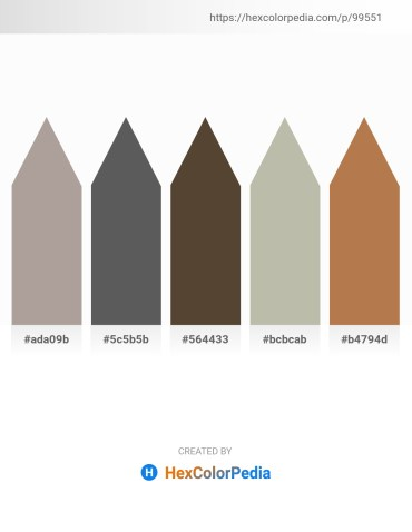 Palette image download - Dark Gray – Dim Gray – Slate Gray – Silver – Indian Red