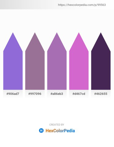 Palette image download - Medium Purple – Peru – Medium Orchid – Orchid – Dark Slate Blue