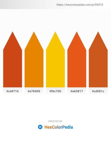 Palette image download - Chocolate – Dark Orange – Gold – Chocolate – Chocolate