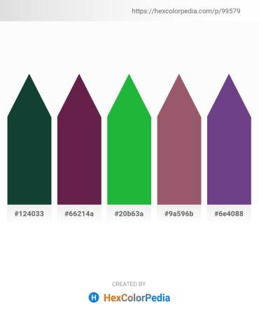 Palette image download - Midnight Blue – Royal Blue – Lime Green – Rosy Brown – Dark Slate Blue