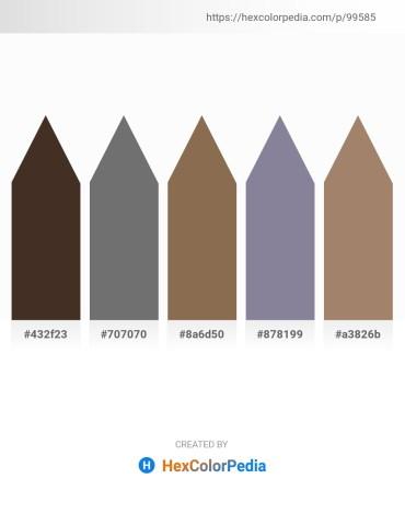 Palette image download - Dark Slate Blue – Dim Gray – Cadet Blue – Light Slate Gray – Rosy Brown