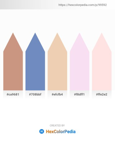 Palette image download - Tan – Steel Blue – Pale Goldenrod – Linen – Misty Rose