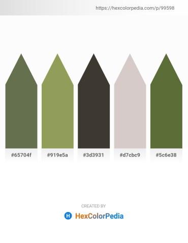 Palette image download - Dark Olive Green – Dark Khaki – Dim Gray – Light Gray – Dark Olive Green