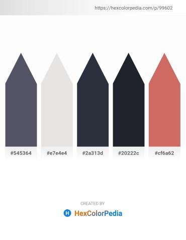 Palette image download - Slate Gray – Gainsboro – Dark Slate Gray – Dark Gray – Indian Red