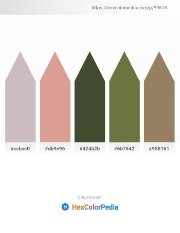 Palette image download - Silver – Tan – Dark Olive Green – Dark Olive Green – Gray
