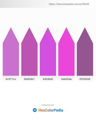 Palette image download - Medium Orchid – Orchid – Medium Orchid – Violet – Hot Pink