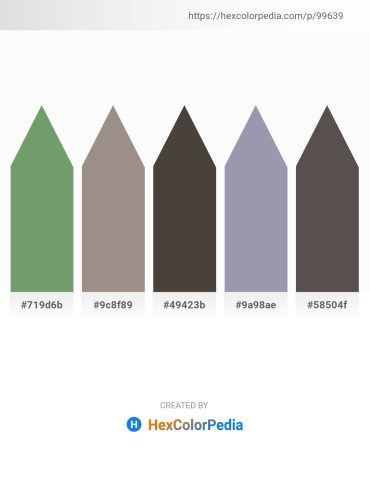 Palette image download - Dark Sea Green – Gray – Dim Gray – Light Slate Gray – Dim Gray