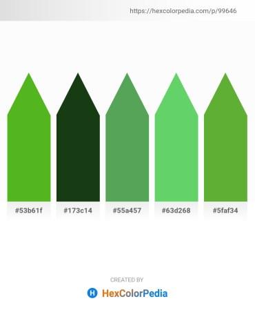 Palette image download - Lime Green – Dark Olive Green – Medium Sea Green – Medium Sea Green – Olive Drab
