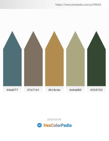 Palette image download - Slate Gray – Dim Gray – Dark Khaki – Medium Purple – Dark Slate Gray