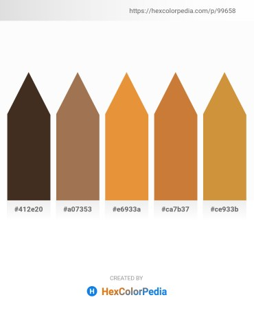 Palette image download - Slate Blue – Gray – Goldenrod – Peru – Peru