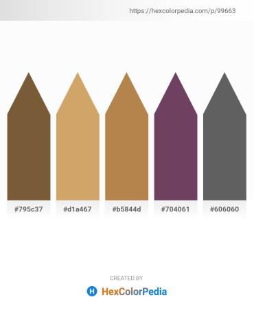 Palette image download - Sienna – Burlywood – Peru – Gray – Dim Gray