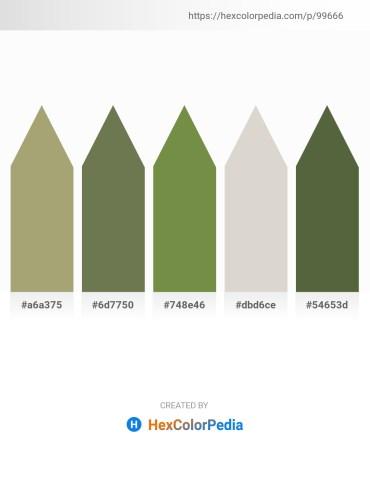 Palette image download - Dark Khaki – Dark Olive Green – Dark Olive Green – Light Gray – Dark Olive Green