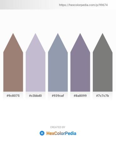 Palette image download - Gray – Light Steel Blue – Light Slate Gray – Light Slate Gray – Gray