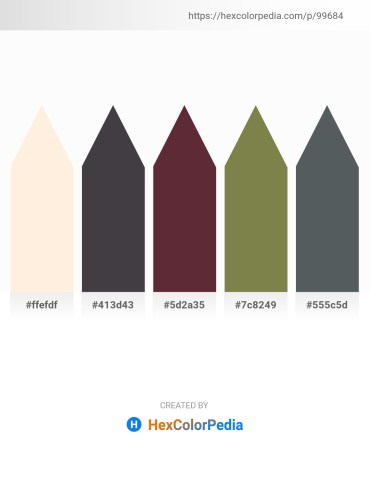 Palette image download - Papaya Whip – Dark Slate Gray – Medium Aquamarine – Dark Olive Green – Dark Slate Gray
