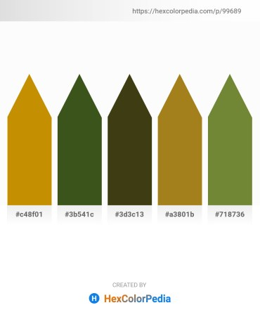 Palette image download - Dark Goldenrod – Dark Olive Green – Dark Olive Green – Dark Goldenrod – Dark Olive Green