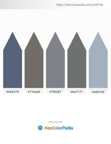 Palette image download - Slate Gray – Dim Gray – Slate Gray – Slate Gray – Light Slate Gray