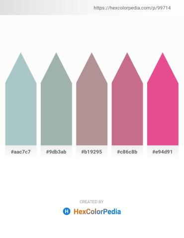 Palette image download - Light Steel Blue – Dark Sea Green – Rosy Brown – Pale Violet Red – Light Coral