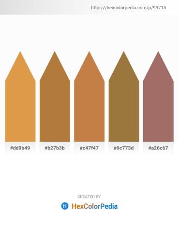 Palette image download - Peru – Peru – Peru – Sienna – Rosy Brown