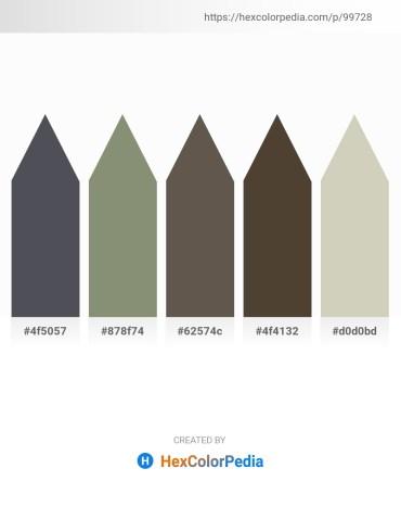 Palette image download - Dark Slate Gray – Gray – Dim Gray – Light Slate Gray – Silver