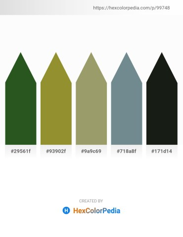 Palette image download - Dark Olive Green – Olive Drab – Dark Khaki – Slate Gray – Dark Slate Gray