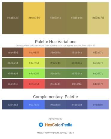 Palette image download - Dark Olive Green – Sandy Brown – Dark Olive Green – Dark Olive Green – Burlywood