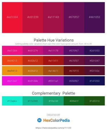 Palette image download - Crimson – Crimson – Firebrick – Purple – Midnight Blue