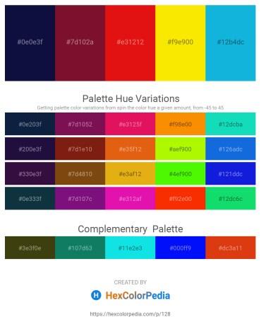 Palette image download - Midnight Blue – Purple – Crimson – Gold – Dark Turquoise