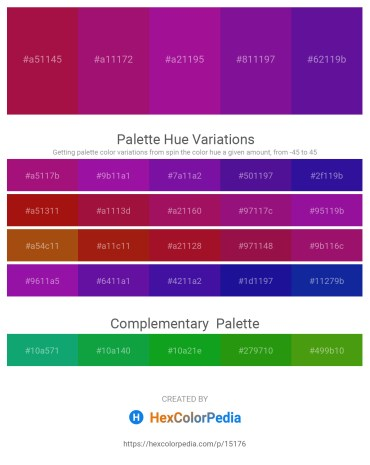 Palette image download - Firebrick – Medium Violet Red – Medium Violet Red – Indigo – Indigo