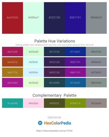 Palette image download - Firebrick – Honeydew – Midnight Blue – Midnight Blue – Light Slate Gray