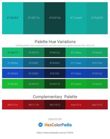 Palette image download - Light Sea Green – Light Sea Green – Dark Violet – Light Sea Green – Light Sea Green