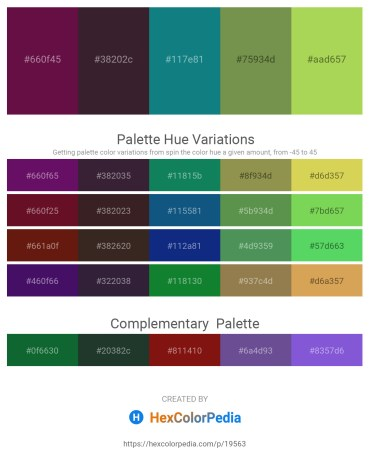 Palette image download - Lime – Black – Light Sea Green – Dark Olive Green – Yellow Green