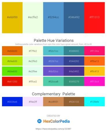 Palette image download - Gold – Honeydew – Steel Blue – Steel Blue – Red