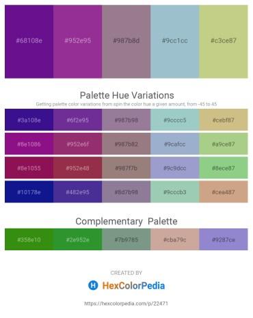 Palette image download - Indigo – Medium Violet Red – Gray – Light Steel Blue – Tan