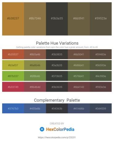 Palette image download - Peru – Dark Olive Green – Dim Gray – Dark Olive Green – Dark Olive Green